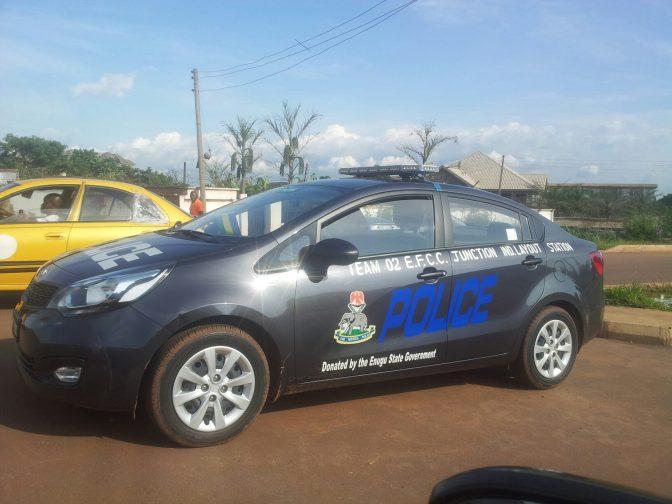 Enugu Patrol Cars.